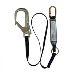 2m Fall Arrest Lanyard WITH 1 x KH311 & 1 x SSE/SSH ABL2.0SH