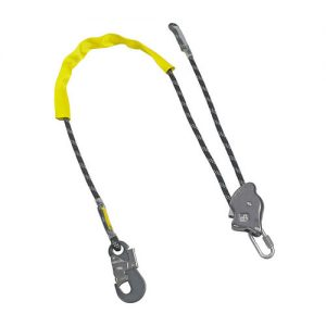 ROPE RAT ADJUSTABLE WORK POSITIONING LANYARD C/W HOOK & PROTECTIVE COVER – 2M (ABRAT)