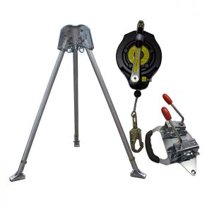 Confined Space kit with 15m Fall Arrest Winch CST1KIT