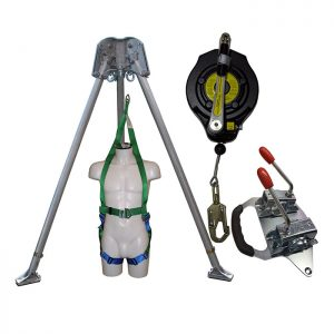 Confined Space kit with 15m Fall Arrest Winch CST2KIT