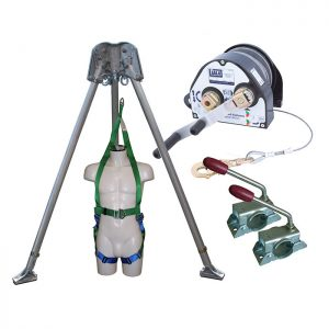Confined Space kit with 27m Man Riding Winch and Rescue Harness CST4KIT