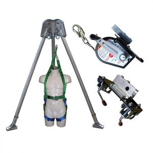 Confined Space kit with 30m Man Riding Winch and Rescue Harness CST6KIT