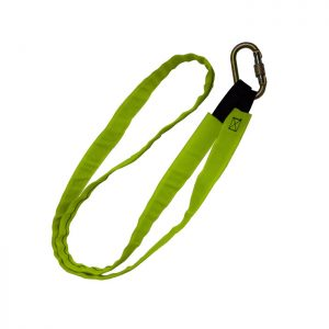 Anchor Sling c/w Hi Vis protective sleeve and end loops. WITH KH311 – 1.0m