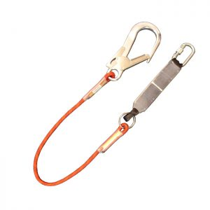 1.5m Fall Arrest Rope Lanyard with KH311 & SSE/SSH  ABSRL1.5SH