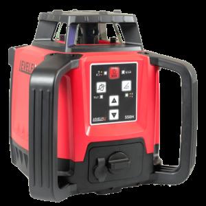 LEVELFiX 550H: Horizontal 360° Rotary Laser Level – Red Beam