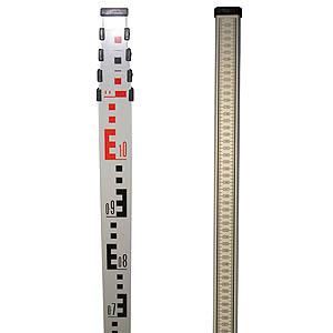 5m x 5 Section Aluminium Staff